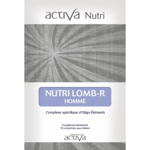 NUTRI LOMB R HOMME Cpr B/70