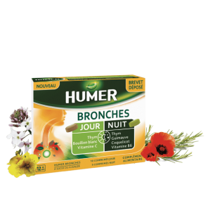 HUMER BRONCHES JOUR NUIT Cpr B/15