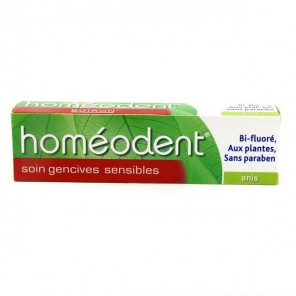Homéodent soin gencives sensibles anis 75ml