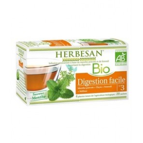 Herbesan infusion digestion facile 20 sachets